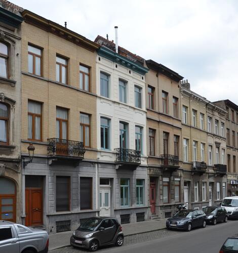 Rue Rubens 90 à 98, 2014