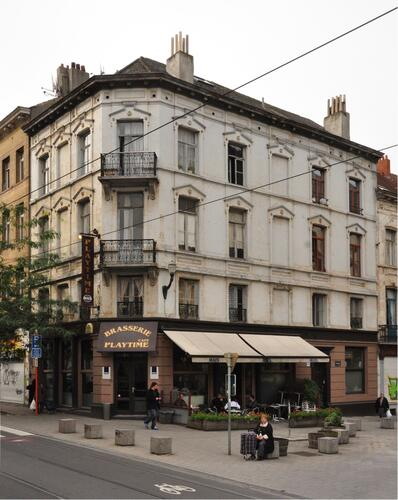 Chaussée de Haecht 307 - rue Hancart 1-2, 2013