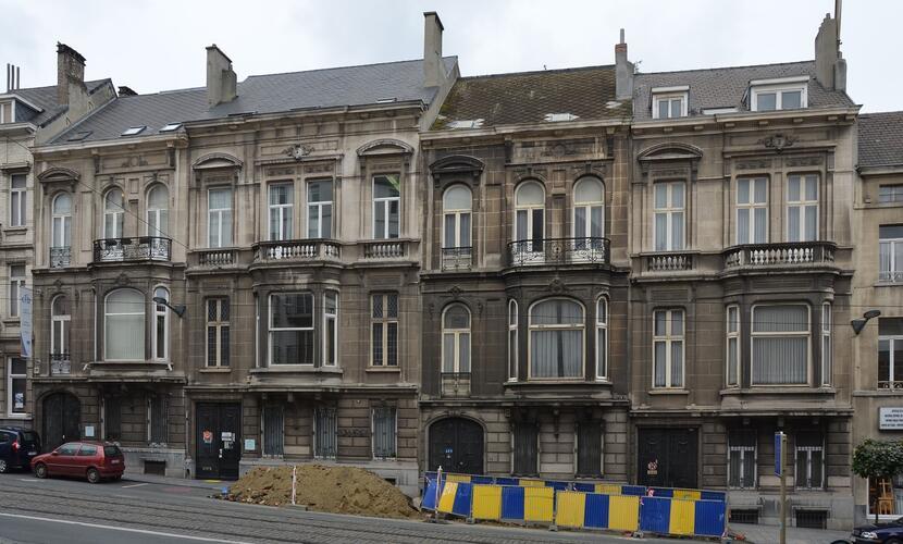 Rue des Palais 32 à 38, 2014