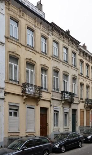 Rue Geefs 38 et 36, 2012