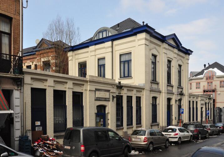 Rue Josaphat 105-109, ancienne École communale no7, 2013