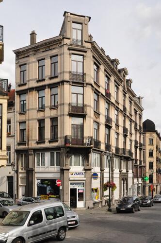 Avenue Louis Bertrand 12 - rue Creuse 2, avenue Louis Bertrand 14-16-18 et avenue Louis Bertrand 20 - rue Jenatzy 33, 2012