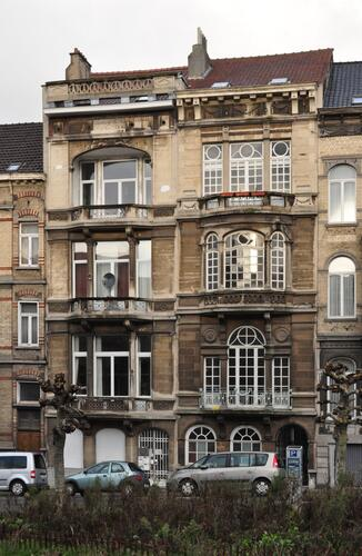 Avenue Louis Bertrand 74 et 76, 2012