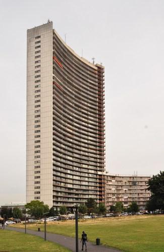 Avenue Louis Bertrand 98-104, Brusilia, façade avant, 2012