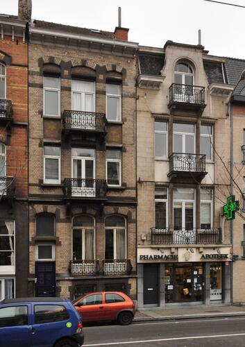 Avenue Rogier 317 et 315, 2012