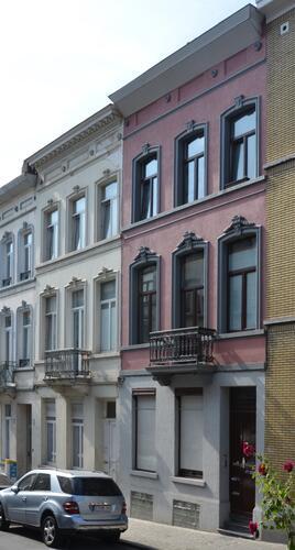 Rue Seutin 70 et 68, 2014