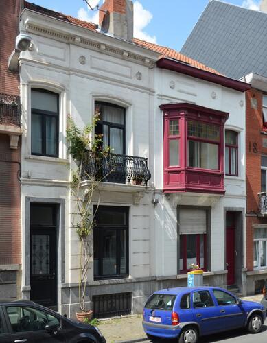 Rue Verboeckhaven 81 et 83, 2014