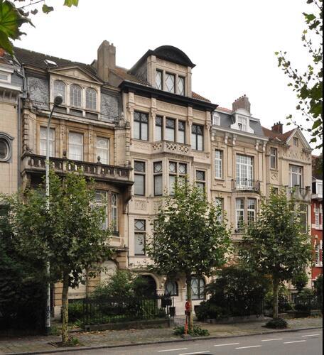 Avenue Eugène Demolder 107 à 101, 2013