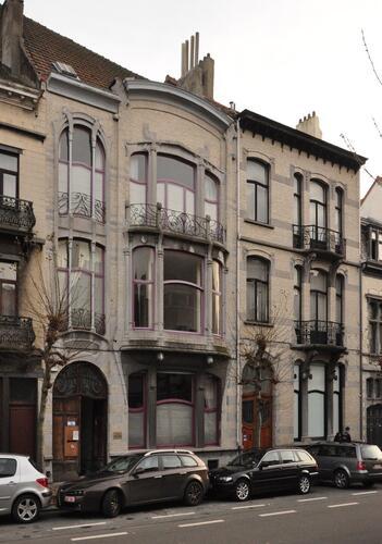 Avenue Sleeckx 44 et 42, 2012