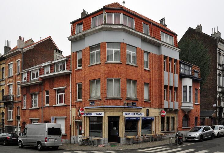 Rue Émile Wittmann 9, 7 et rue Auguste Lambiotte 107-109, 111, 2012