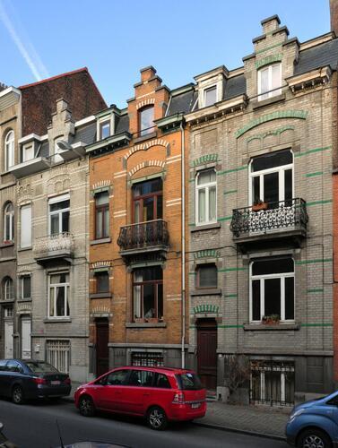 Rue Émile Wittmann 14 à 18, 2012