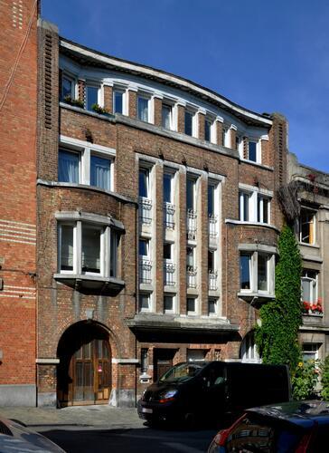 Rue Henri Stacquet 38 et 40, 2010