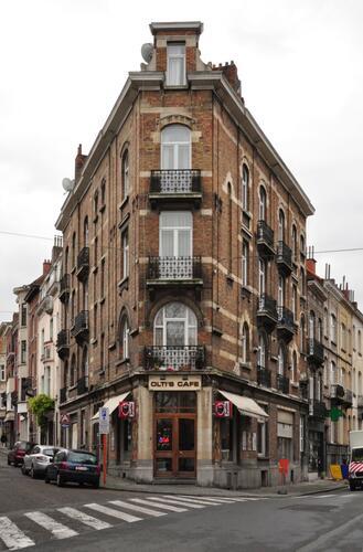 Rue Josse Impens 6-8, 2-4 et rue des Pâquerettes 79, 2011