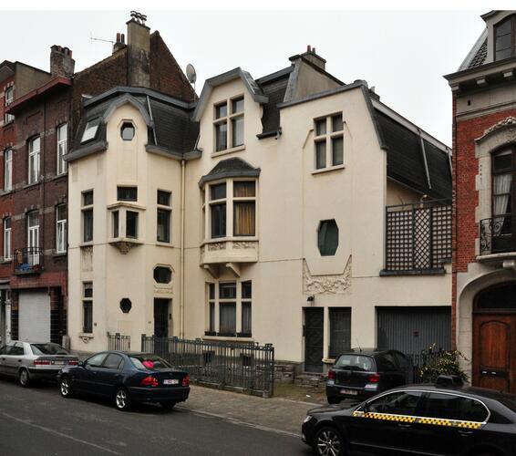 Rue Auguste Lambiotte 64-66, 2012