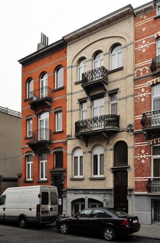 Rue Auguste Lambiotte 85 et 87, 2012