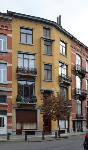 Rue Eugène Smits 86-88 - rue Monrose 40, 2012