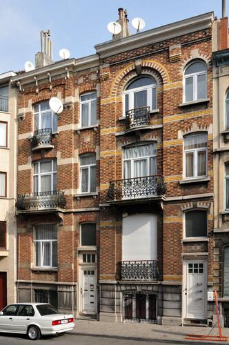 Rue Van Hammée 40 et 42, 2012