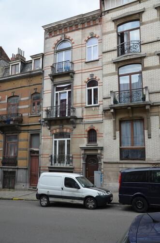 Rue Verbist 127, 2012