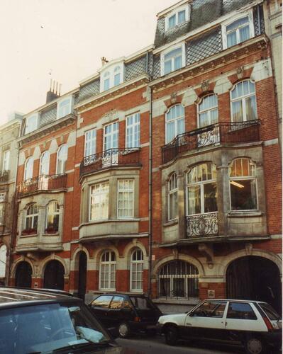 Aduatiekersstraat 97, 99 en 101, 1993