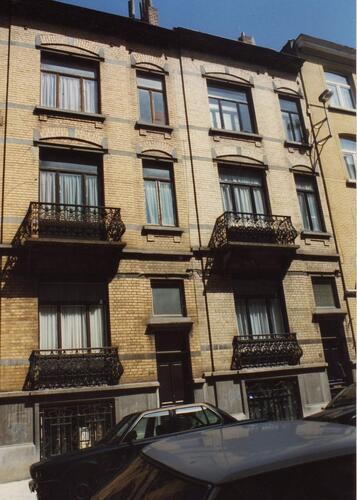 Rue Antoine Gautier 50 et 52, 1994
