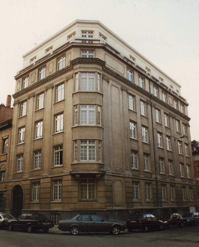 Legerlaan 67 op hoek met Bollandistenstraat, 1993