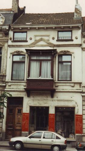 Avenue d'Auderghem 217, allège de la logette en bois, 1994
