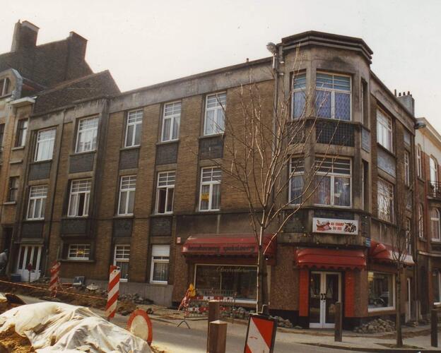 Rue Colonel Van Gele 75 et rue Champ du roi 77-77A, 1994