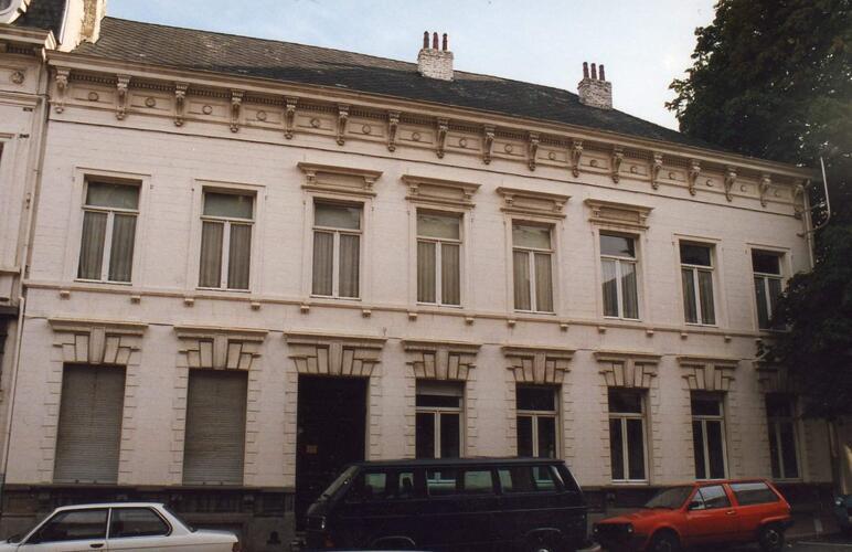 Ancienne maison et étude du notaire Hap et Parc Jean-Félix Hap