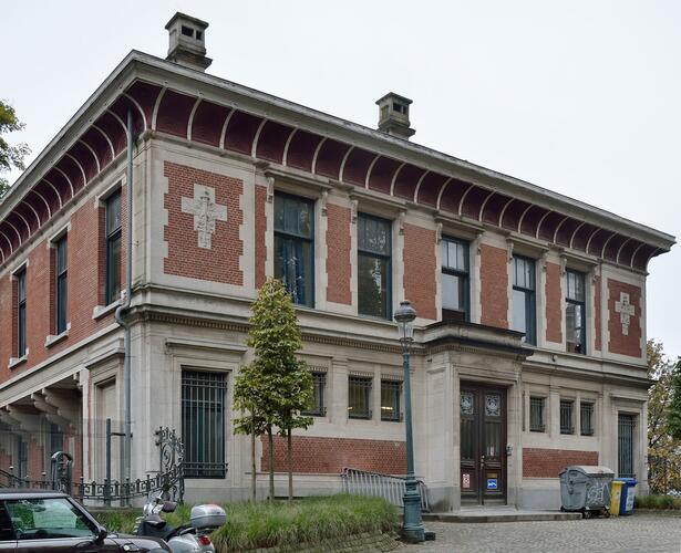 Ancienne École de Commerce (annexe de l'actuel Lycée Jacqmain)
