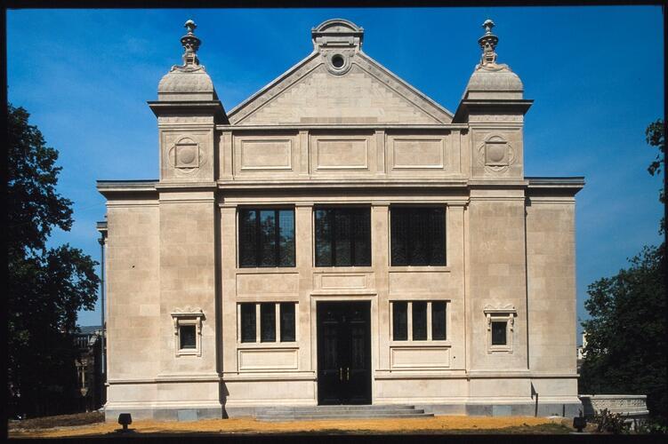 Belliardstraat 137-137A, Voormalig Instituut voor Sociologie (huidige Solvaybibliotheek), (Collectie Bastin&Evrard © MBHG)
