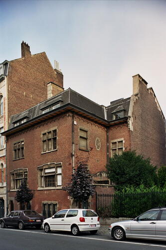 Rue de l'Abbaye 71 et 73, 2005