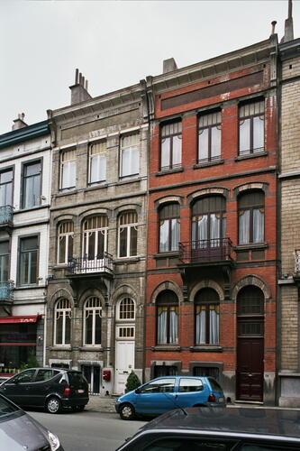 Rue de l'Aqueduc 93 et 91, 2006