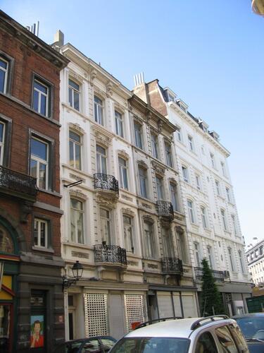 Rue de l'Athénée 5 et 3, 2007