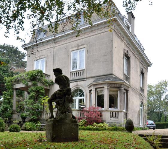 Chaussée de Boitsfort 36, villa Gonthier, 2014