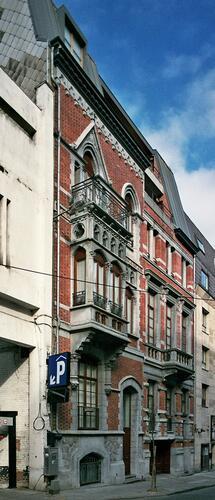 Rue Capitaine Crespel 25 et 23, 2009