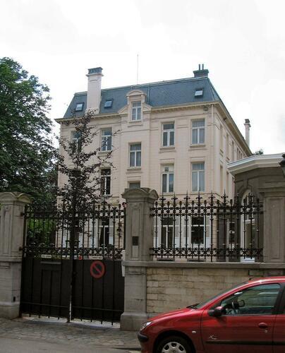 Ancienne propriété Solvay