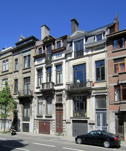 Avenue de la Couronne 260, 262 et 264, 2011