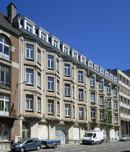 Avenue de la Couronne 346-348-350 et 352-354-356, 2011