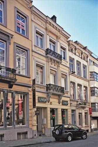 Rue de Stassart 104, 2009