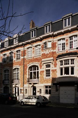 Rue François Stroobant 4 et 6, 2007