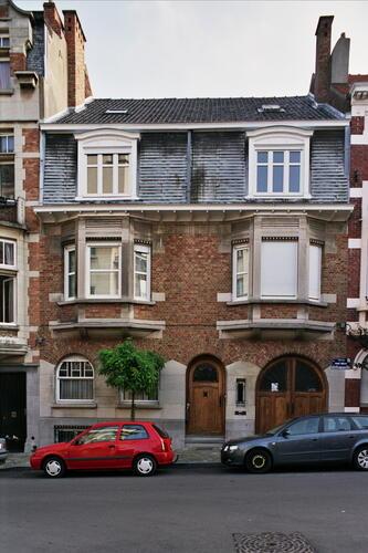 Rue Franz Merjay 192-192a, 2006