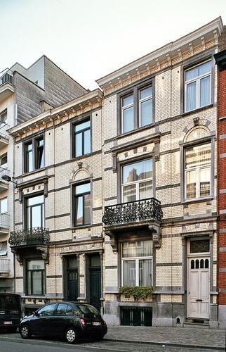 Rue Gachard 14 et 18, 2009