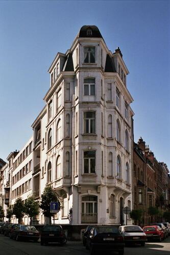Rue Général Patton 43 et rue De Praetere 11, 2005
