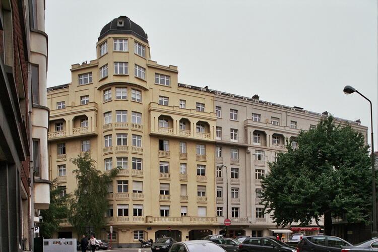 Place Georges Brugmann 12-13-14, 15-16-17-18, 19-20 Rue Berkendael 128-130-132