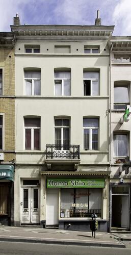 Chaussée d'Ixelles 272, (Françoise Waltéry © MRBC - MBHG), 2011