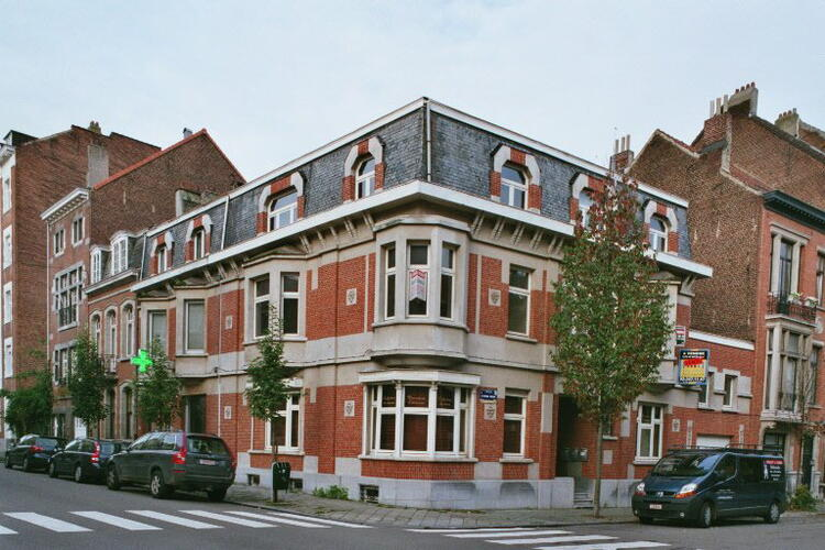 Rue Jean-Baptiste Colyns 85–55 rue Alphonse Renard, 2006