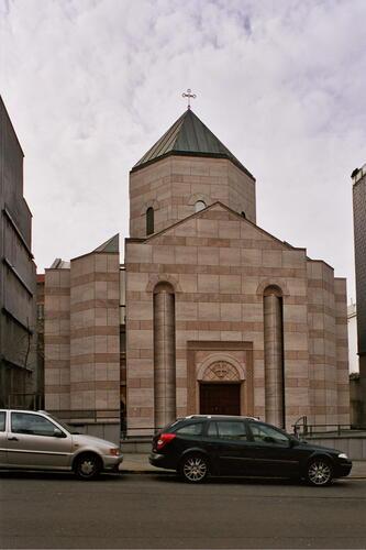 Rue Kindermans 1a, église apostolique arménienne Sainte-Marie-Madeleine, 2005