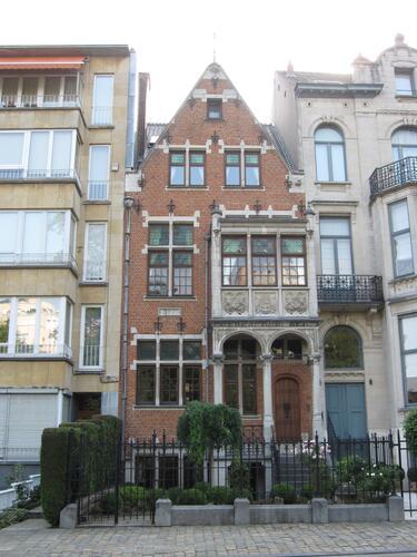 Eigen huis ven Guillaume Des Marez