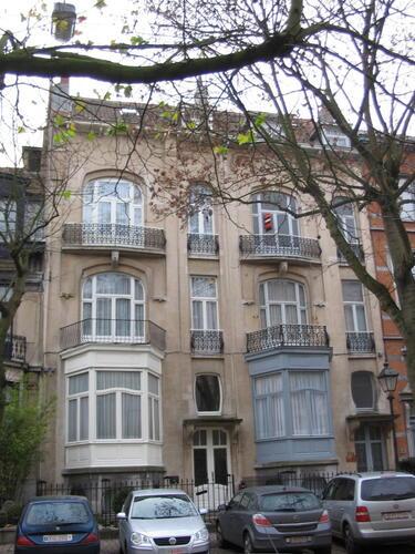 Avenue Molière 219 et 221, 2007