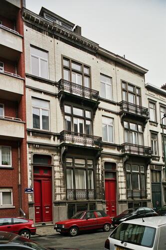 Rue Simonis 16 et 18, 2006